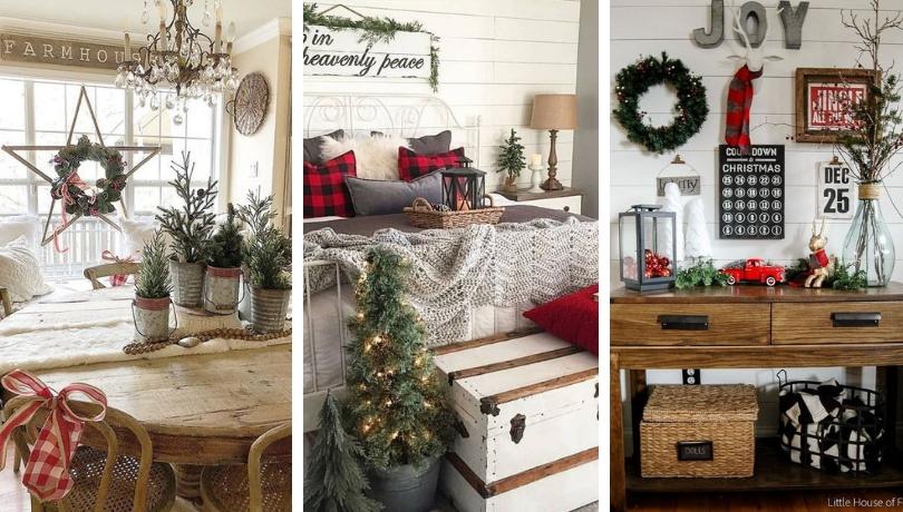 Χριστουγεννιάτικη διακόσμηση στο πιο ζεστό και φιλόξενο χωριάτικο στυλ - υπέροχες ιδέες για να αντιγράψετε τώρα