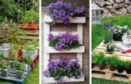 44 Από τις καλύτερες ιδέες για την επαναχρησιμοποίηση ξύλινων παλετών στον κήπο