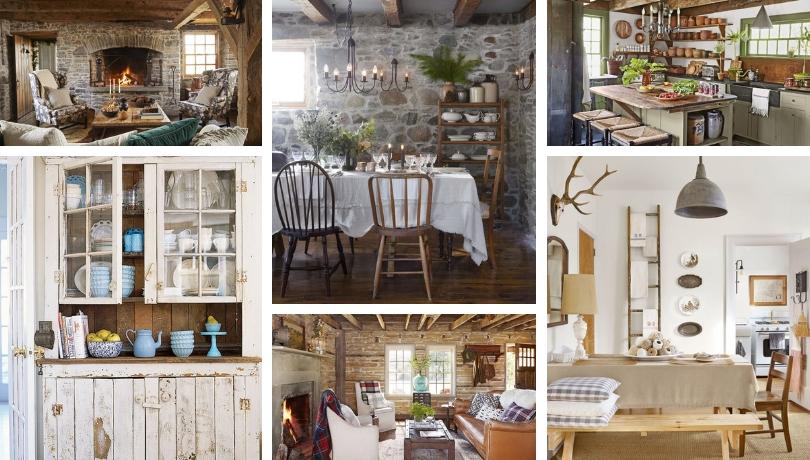 35 Ιδέες χωριάτικης διακόσμησης που θα σας βοηθήσουν να σχεδιάσετε το σπίτι των ονείρων σας