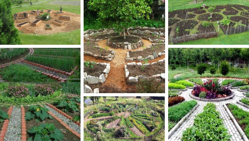 Καταπληκτικά μάνταλα σχέδια κήπων για έμπνευση