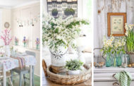 Πως να φέρετε μια δροσερή ανοιξιάτική αύρα στην κουζίνα σας - 45 Εμπνευσμένες ιδέες διακόσμησης