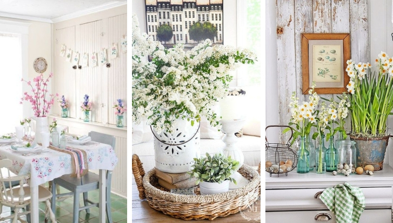Πως να φέρετε μια δροσερή ανοιξιάτική αύρα στην κουζίνα σας - Εμπνευσμένες ιδέες διακόσμησης