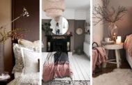Πώς να διακοσμήσετε μια κρεβατοκάμαρα με καφέ τοίχους