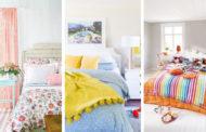 40 Υπέροχες ιδέες διακόσμησης ανοιξιάτικης κρεβατοκάμαρας