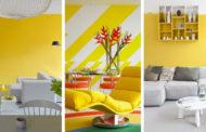 Τέλειες ιδέες για ένα κίτρινο δωμάτιο: πώς να διακοσμήσετε, συνδυασμοί και 30 φωτογραφίες για έμπνευση