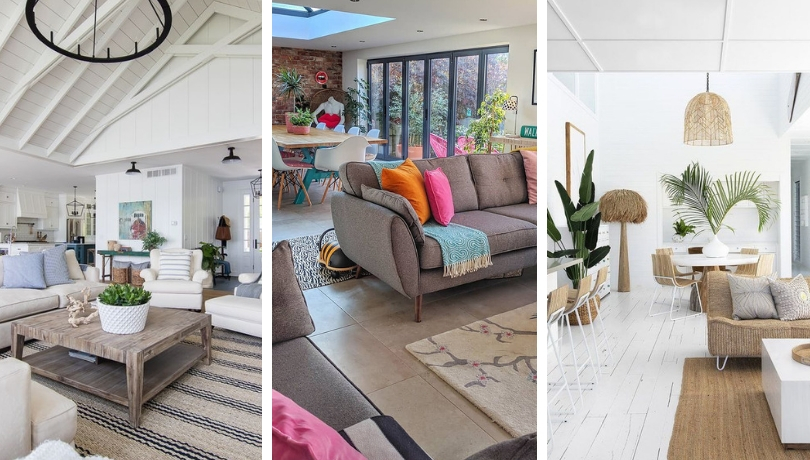 Οι καλύτερες ιδέες και μυστικά διακόσμησης ενιαίου σαλονιού για ένα πολυλειτουργικό, οικογενειακό χώρο