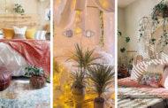 Υπέροχες ιδέες Boho υπνοδωματίου γεμάτες χρώμα και ζεστή ατμόσφαιρα